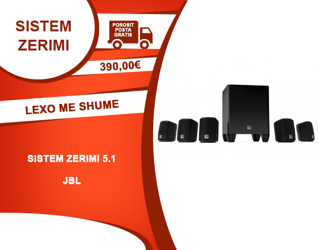 JBL 5.1 Home Theater Speaker System with Powered Subwoofer