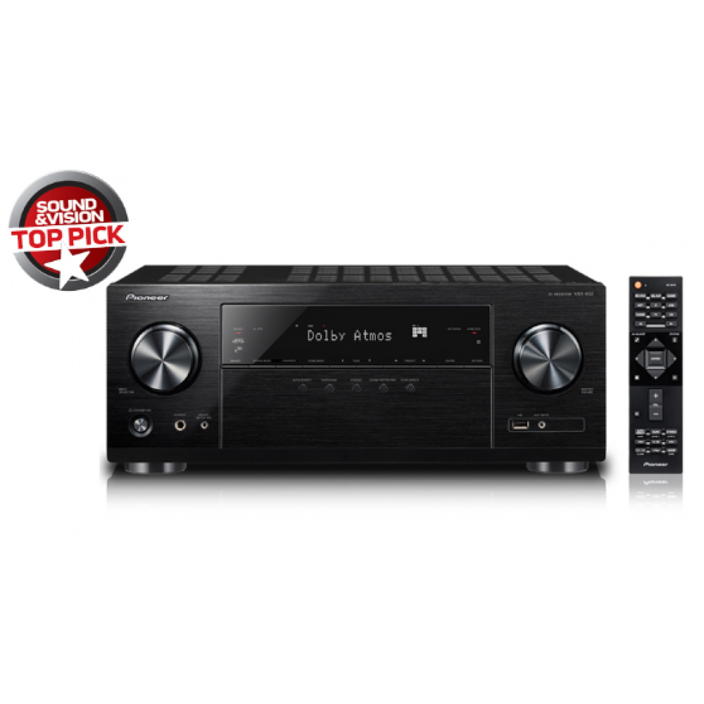 Perforcues Pioneer 5.1-Channel Network AV Receiver AV Receiver with Ultra HD Pass-through with HDCP 2.2 (4K/60p/4:4:4)