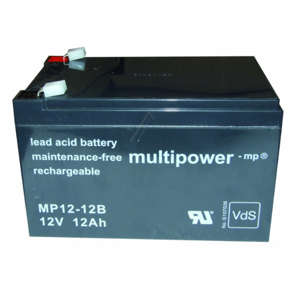 Bateri rimbushese 12V/12A Masat: 9,8x15,1x9.3cm
