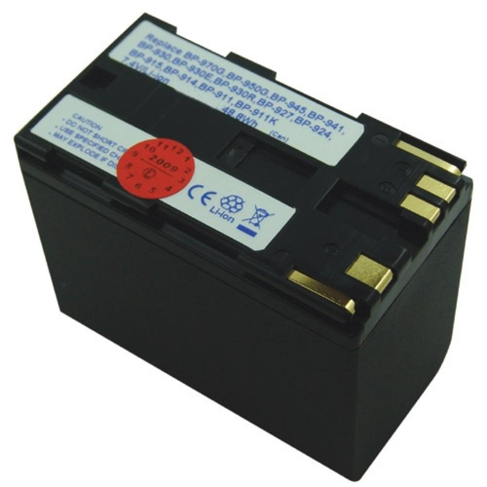 Bateri per Canon BP-941 / BP-945 / BP-950 / BP-950G / BP-970 / BP-970G
