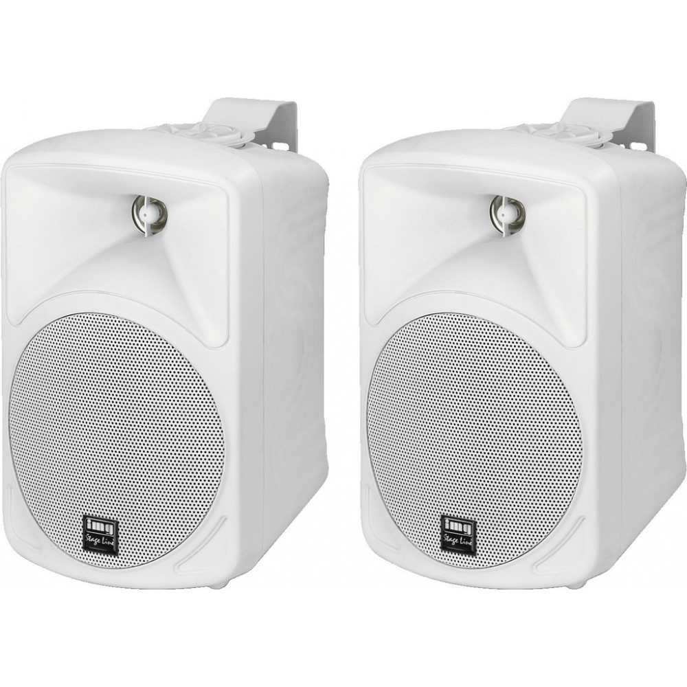 Pair of high-quality PA speakers, 20 W, 8 Ω PAB-48/WS