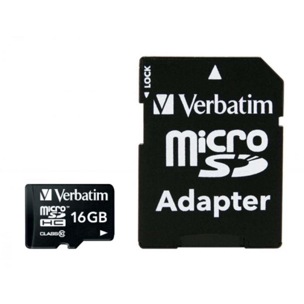 Mikro SD kartele 16GB - 10MB/s / Class 10