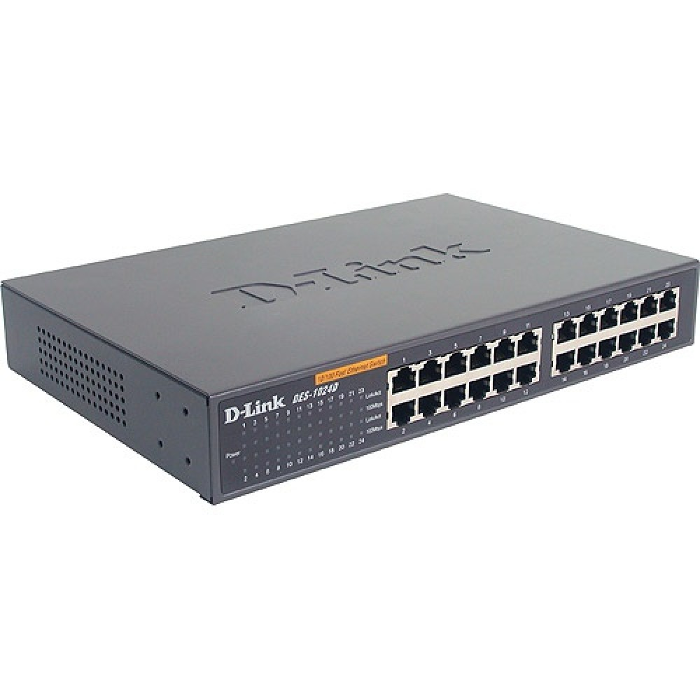 FAST ETHERNET SWITCH, 24 PORT, DESKTOP