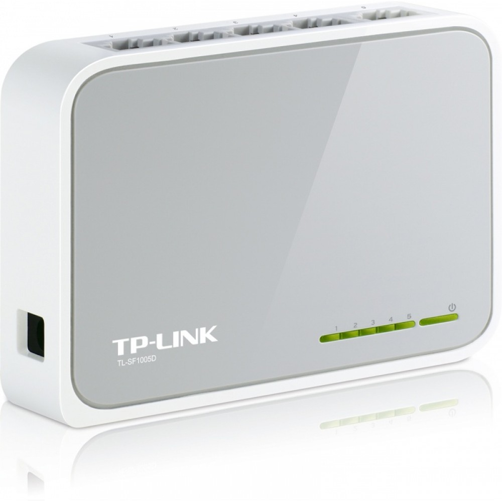 Shperndares interneti (switch) me 5 porte 10/100Mb/s