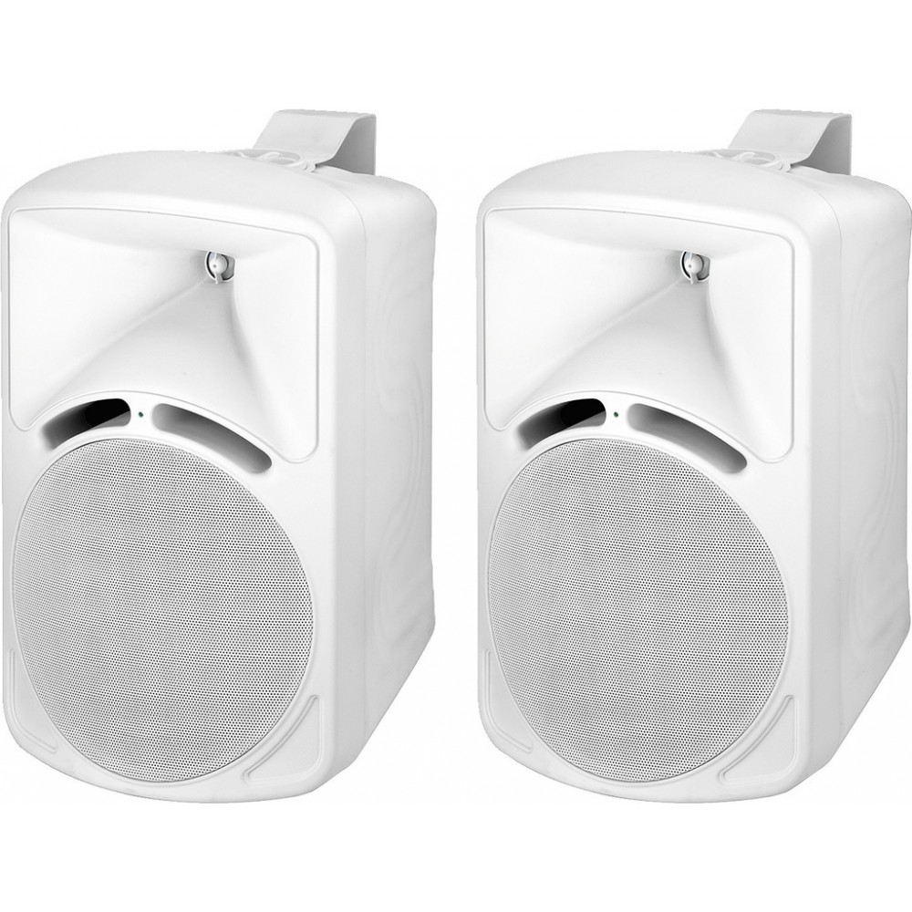 PAB-88/WS Pairs of high-quality PA speakers, 75 W, 8 Ω