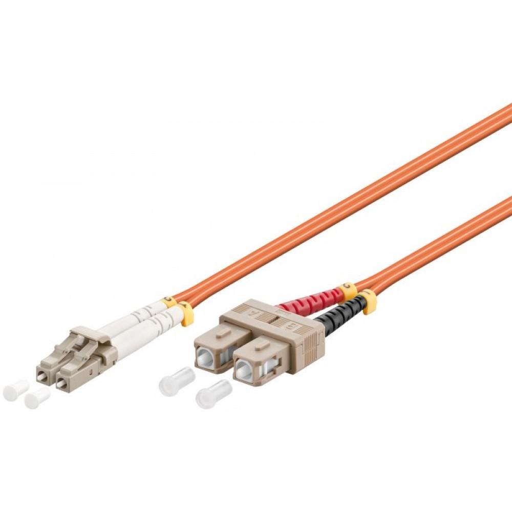 LWL LC-SC 0750 50/125 OM2 DUPLEX 7,5M