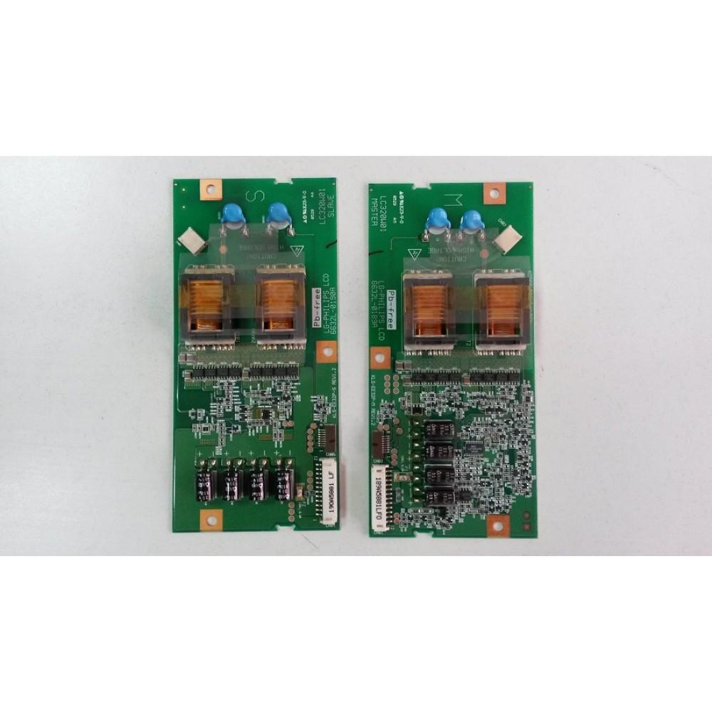 Inverter LC320W01 MASTER-6632L-0189A dhe LC320W01 SLAVE-6632L-0190A