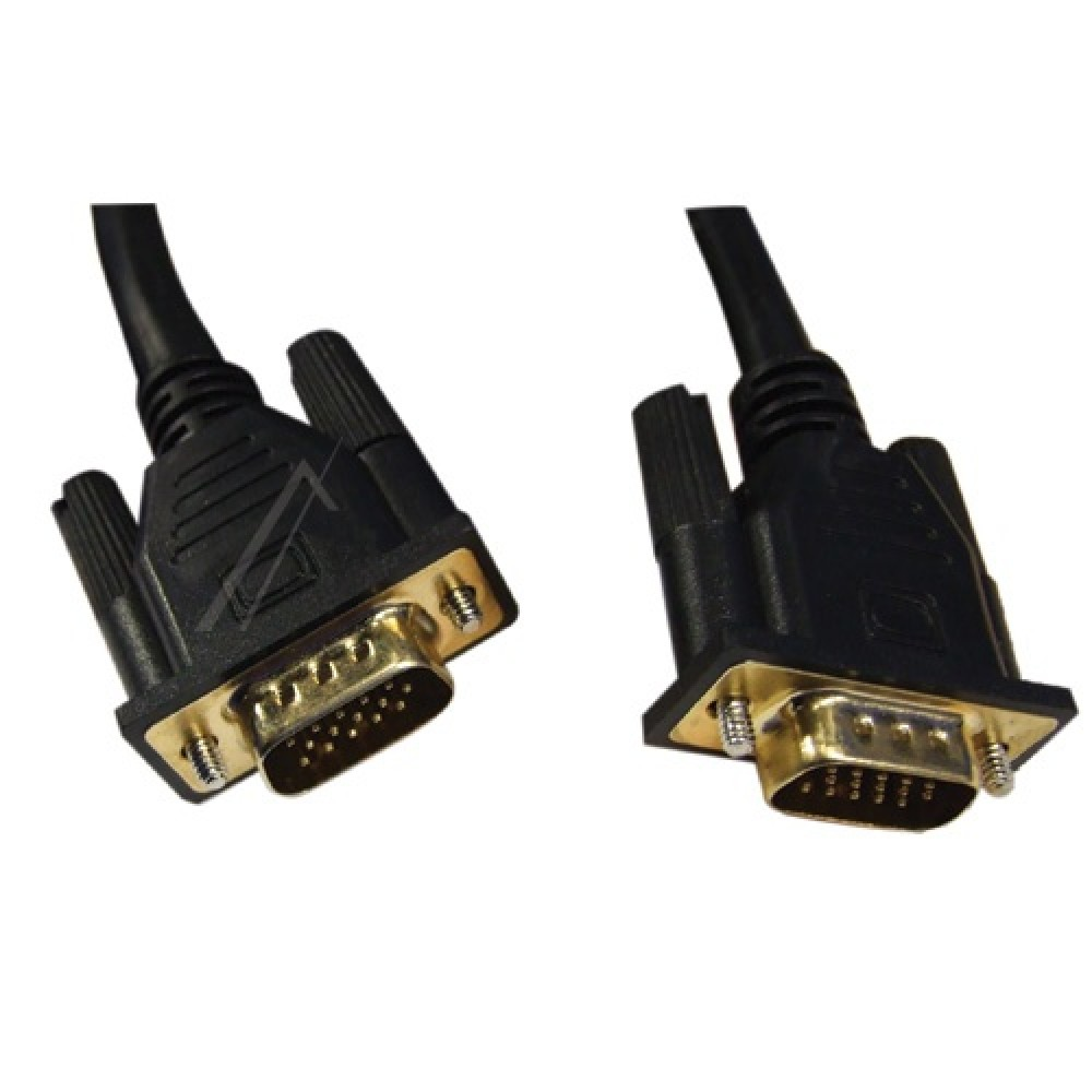 Kabell VGA per PC / Monitor 15PIN /  15PIN, 1,8M me izolim te dyfishte