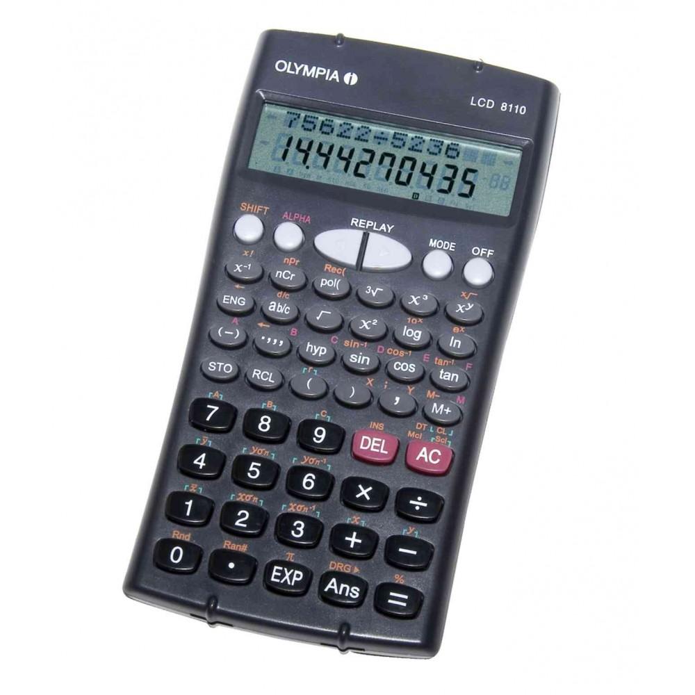 Olympia gjerman kalkulator Shkencor Me 2 Linja Ne Display