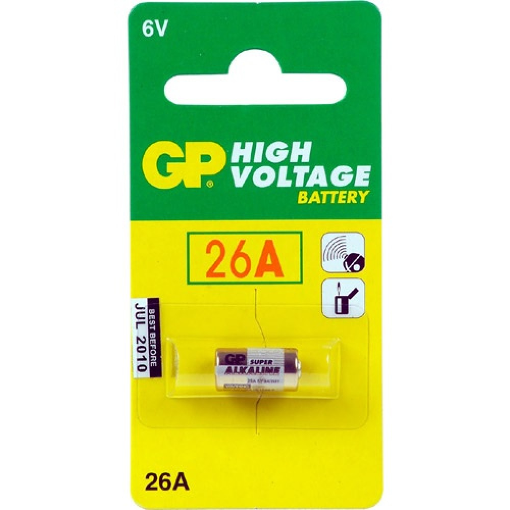 Bateri GP 26A 6,0V