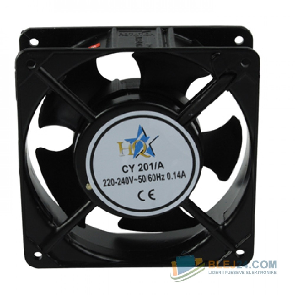 Ventilator per PC 220-240V AC, 120 x 120 x 38 mm