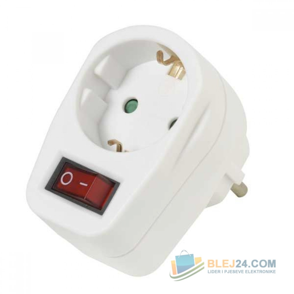 Adapter rryme me nderprers deri 3600W/16A
