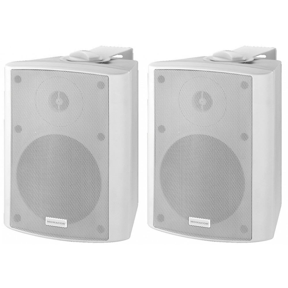 MKA-50SET/WS Active 2-way stereo speaker system, 2 x 20 W