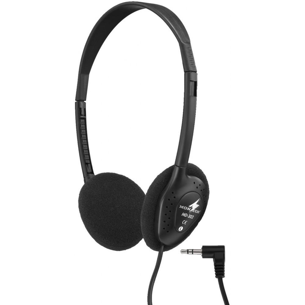 MD-302 Stereo headphones