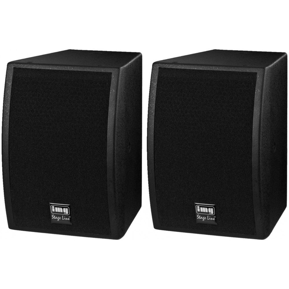 CLUB-1TOP Pair of professional PA speaker systems, 2 x 100 W/8 Ω