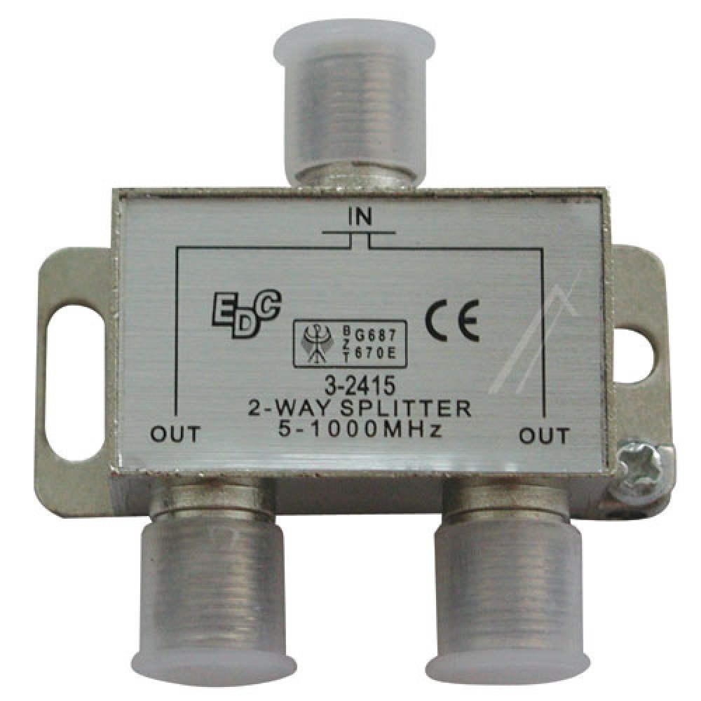 Shperndares antene i 2 fishte 5-1000 MHZ 4DB