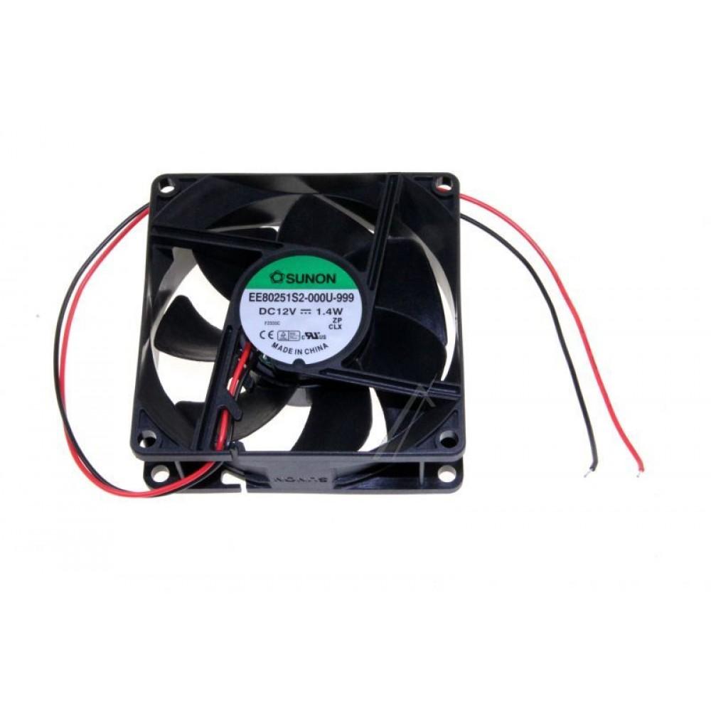 Ventilator 12V, 80x80x25mm