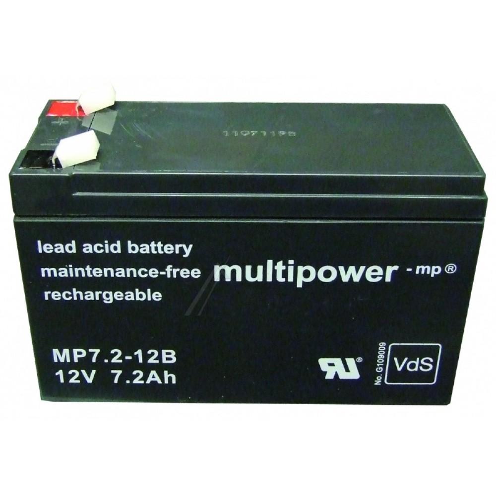 Bateri 12V / 7.2Ah  MULTIPOWER