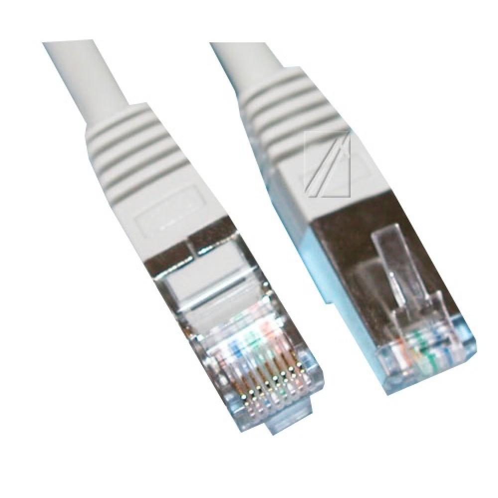 Internet kabell 1m CAT5E, RJ45, F/UTP