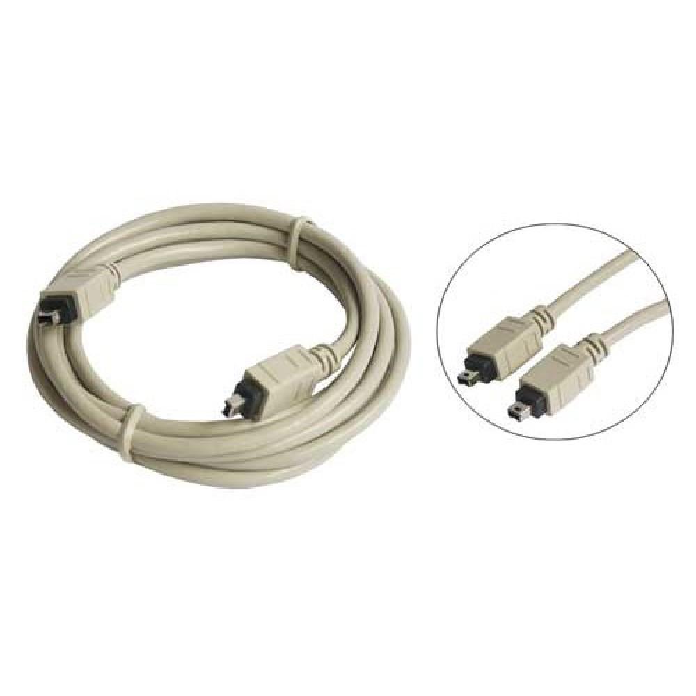 IEEE1394 FireWire Lloptop kabell 2x4pol