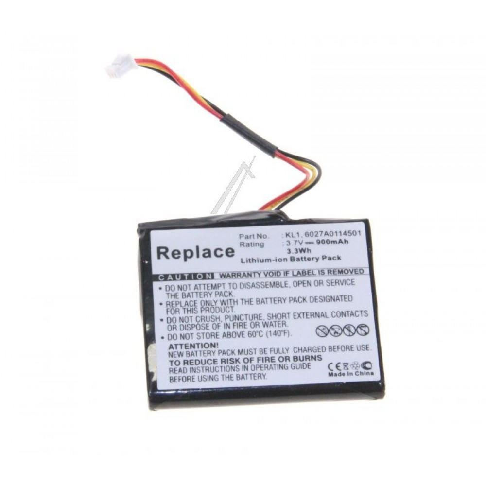 Bateri per Navigacion 3,7V-900MAH, LI-ION