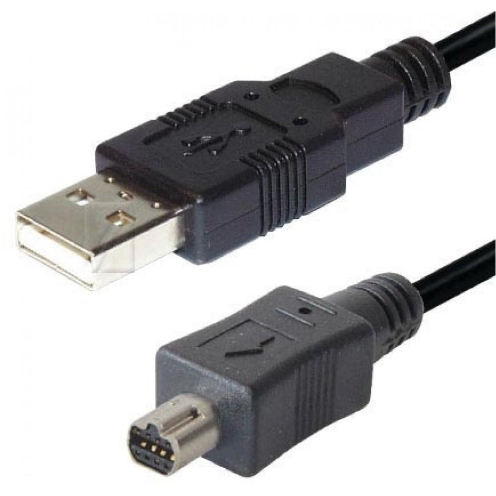 Kabell USB / MINI Nikon 2,0M