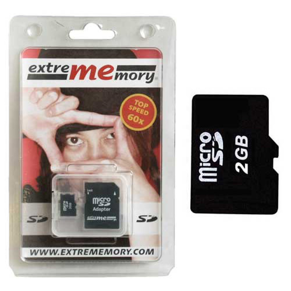 Mikro SD kartel 2GB EXTREM MEMORY