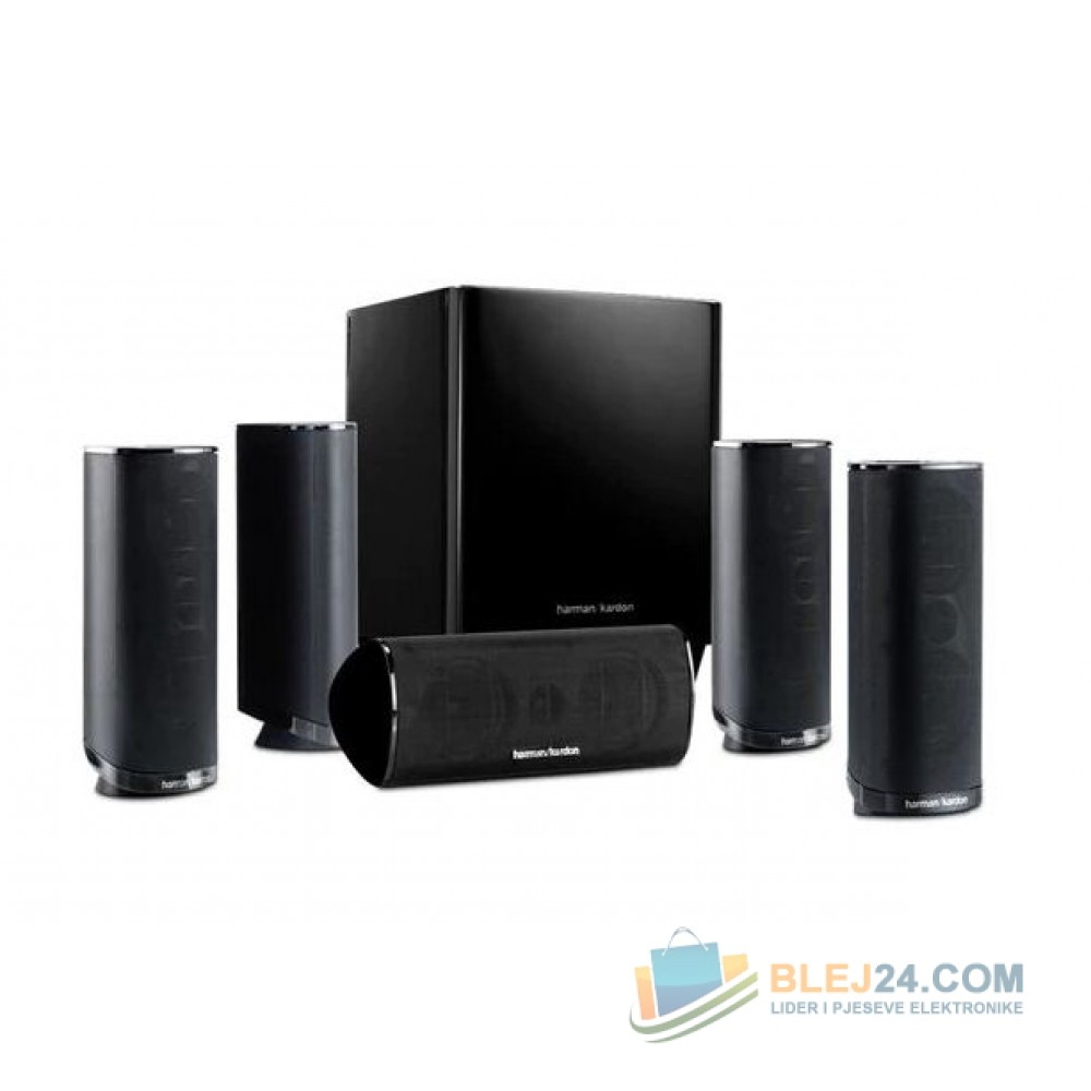 5.1 channels of vivid, realistic home theatre sound
