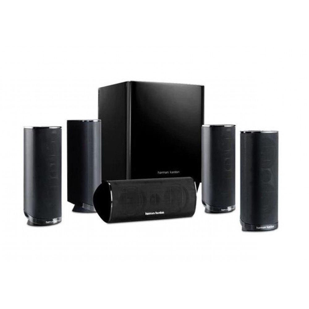 Harman/Kardon 5.1 channels of vivid, realistic home theatre sound