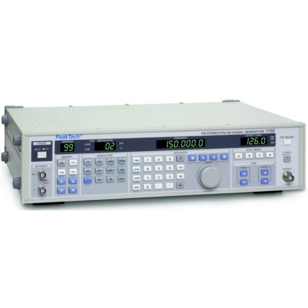 FM-Stereo / FM-AM Signal Generator, 100 kHz-150 MHz