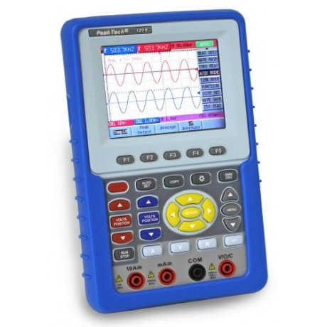 20 MHz/2 CH Digital Storage Oscilloscope/DMM