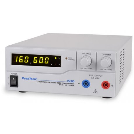 Laboratory Switching Mode Power Supply DC 1 - 16 C / 0 - 60 A
