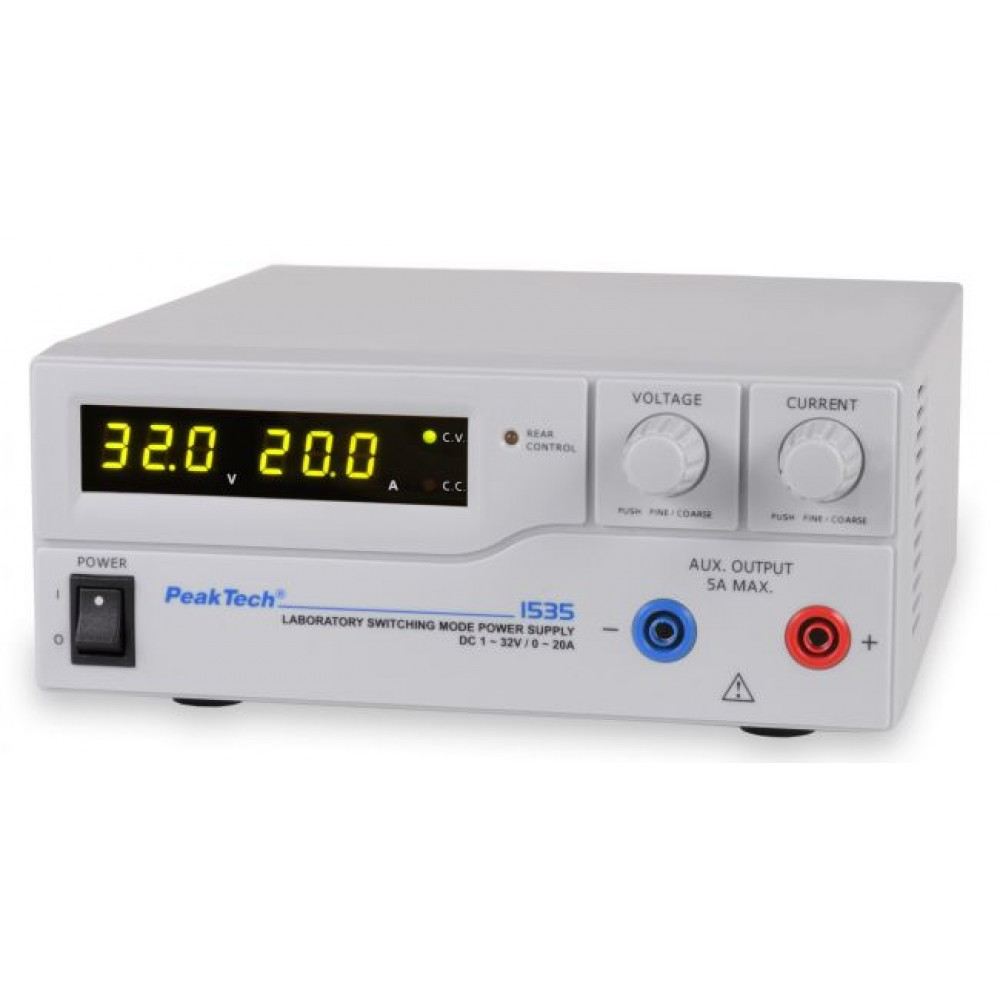 Laboratory Switching Mode Power Supply DC 1 - 32 V / 0 - 20 A