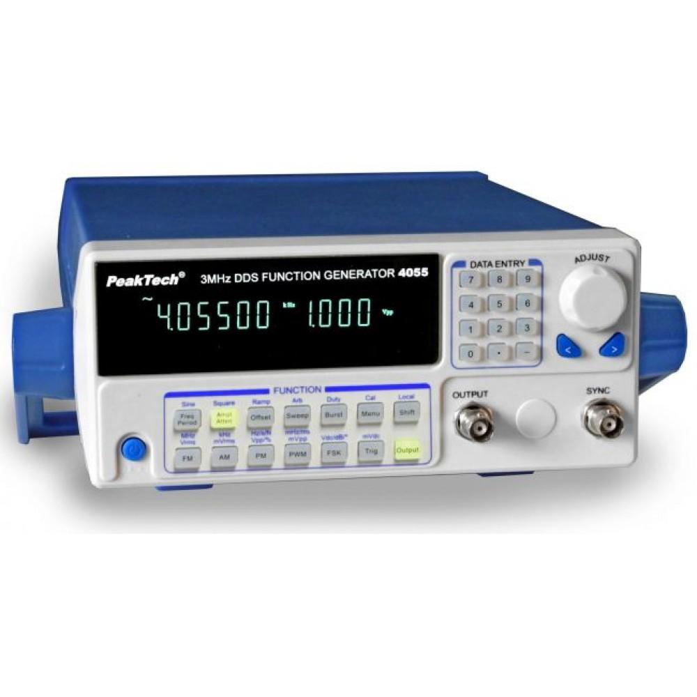 DDS Function Generator 10 µHz - 3 MHz