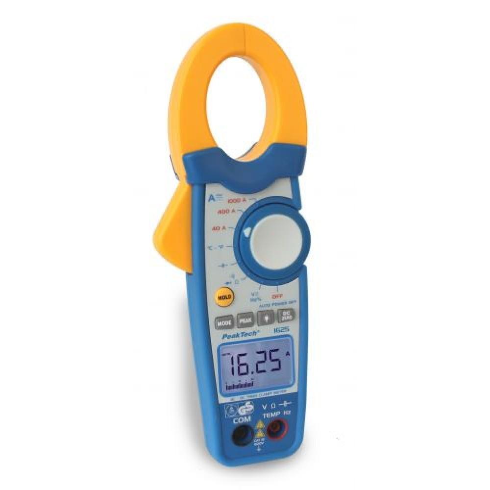 Digital Clamp Meter with True RMS + Bargraph, 3 3/4-digit