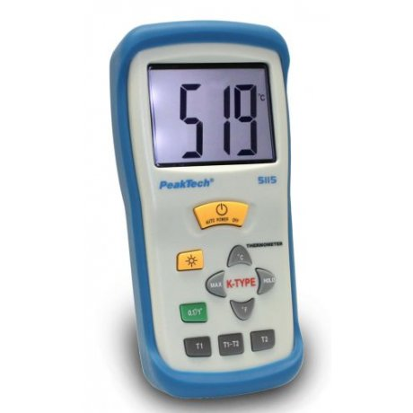 Digital-Thermometer, 2 CH, 3 1/2-digit, -50 ... +1300°C