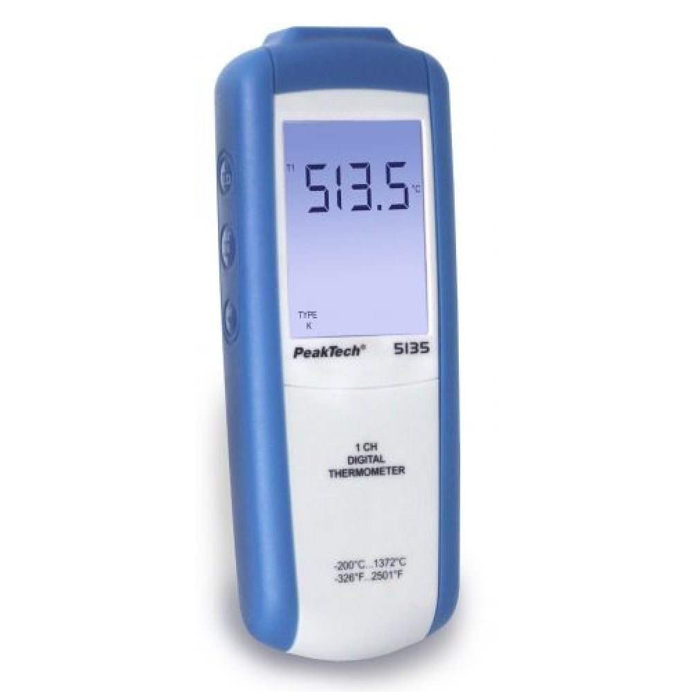 Digital-Thermometer 1 CH, 3 1/2-digit, -200...+1372°C