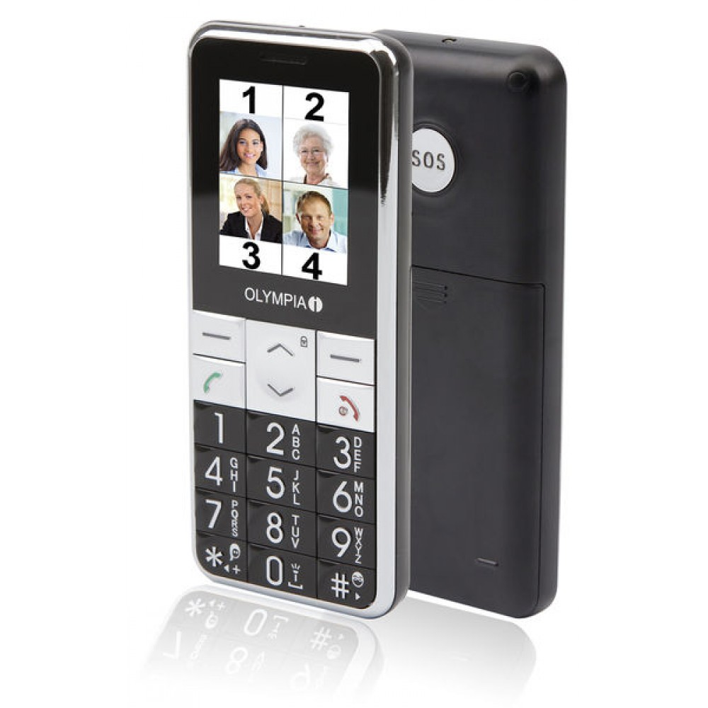 Telefon mobil special per persona me aftesi te kufizuar SOS
