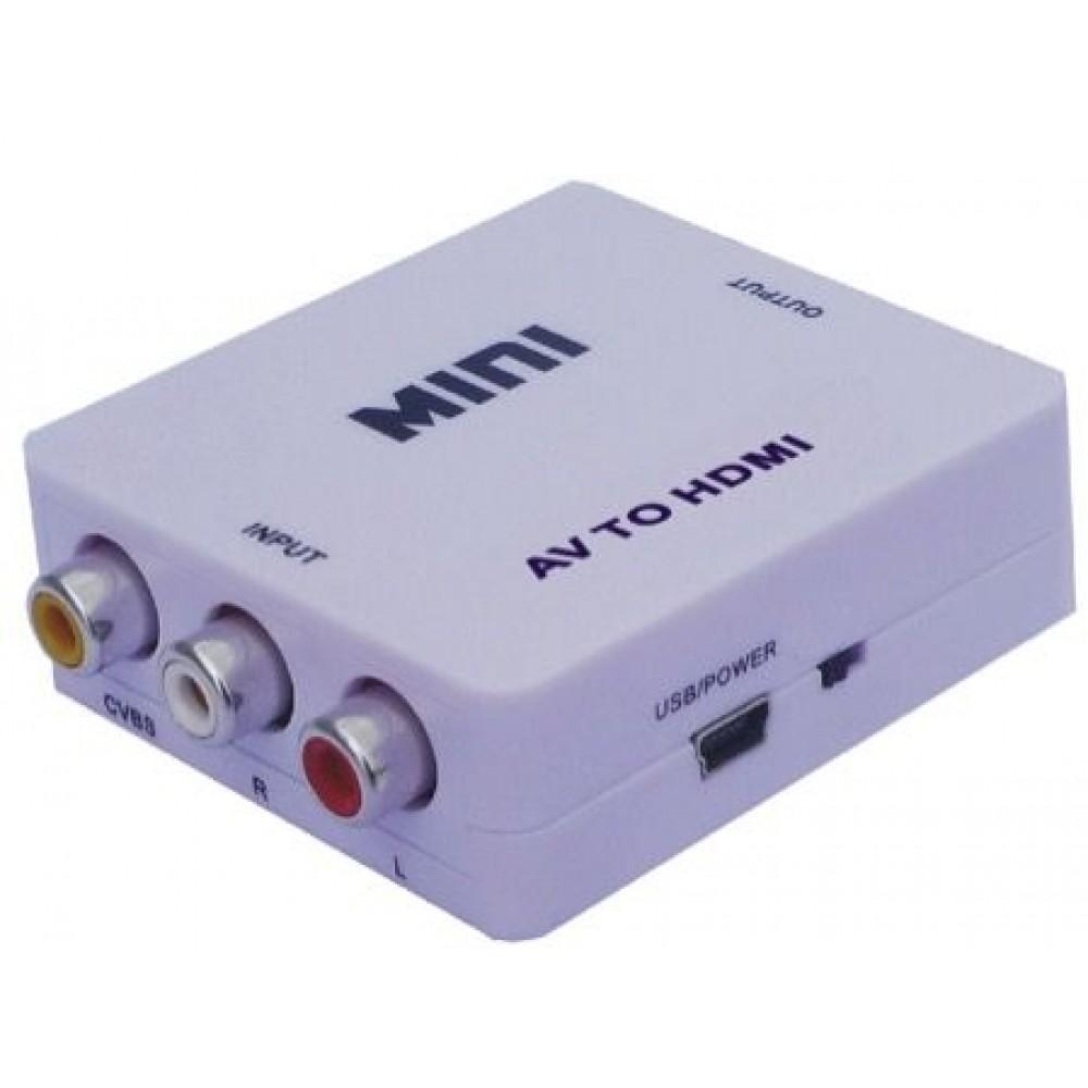 Konvertues Sinjali Prej AV resiver, DVD etj. ne HDMI TV - projektor