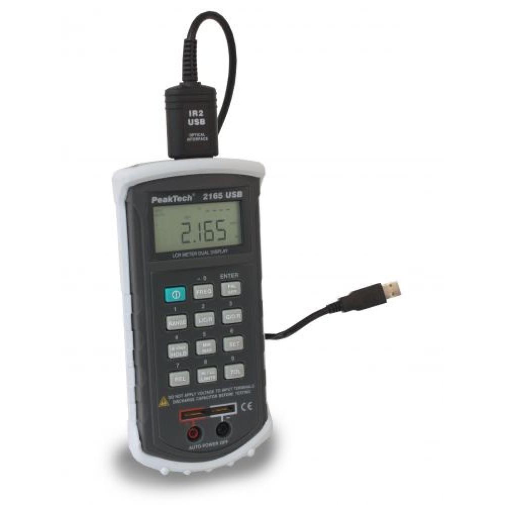 Digital LCR-Meter, 120 Hz-1kHz with USB
