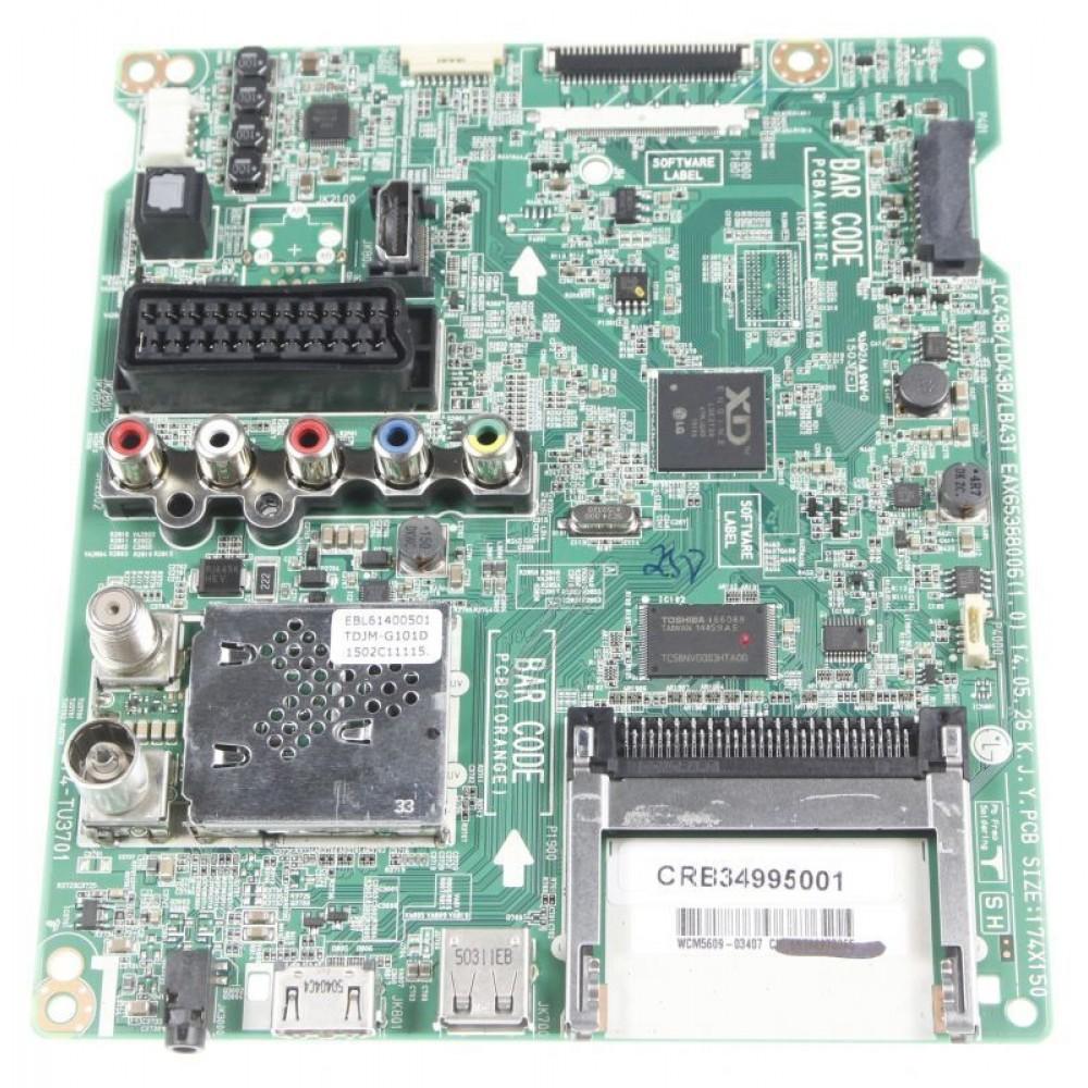 LG Mainboard CRB34995001 / EBU62443115 / EAX65388006