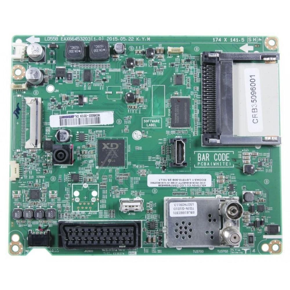LG Mainboard CRB35096001 / EBU63441104 / EAX66453203