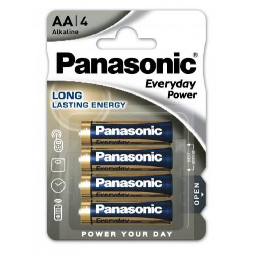 Bateria 1.5V 4cope paketim  LR06   AA Panasonic