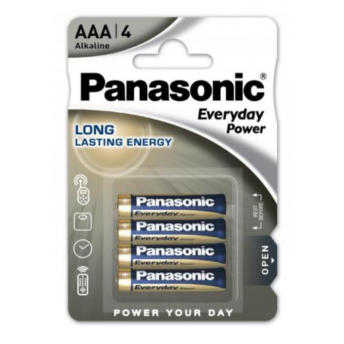 Bateri 1.5V AAA 4 cope Panasonic