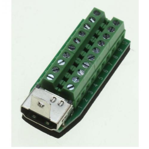 Adapter HDMI Femer - Terminal Block 20pin
