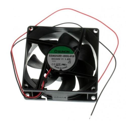 Ventilator 24VDC  80X80X25