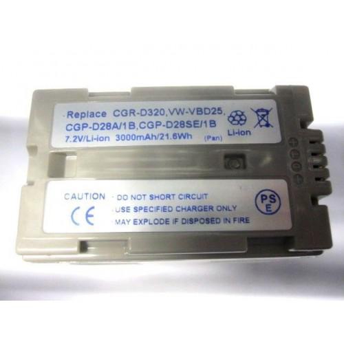 Bateri per kamere Panasonic CGR-D320 / VW-VBD25 / CGP-D28A / 1B / CGP-D28SE/1B