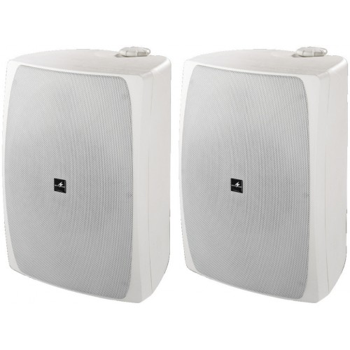 Pair of high-performance PA speakers, 180 WMAX, 100 WRMS each speaker system MKS-8PRO