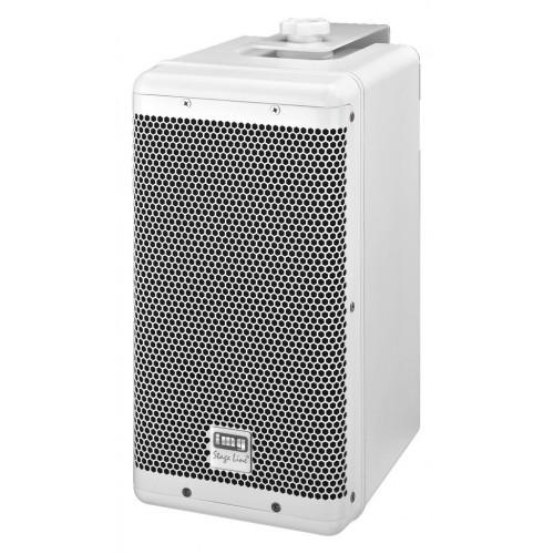 Weatherproof high-performance PA speaker system, 100 WPAB-6WP/WS