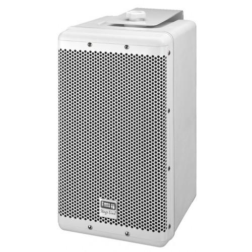 Weatherproof high-performance PA speaker system, 120 W PAB-8WP/WS